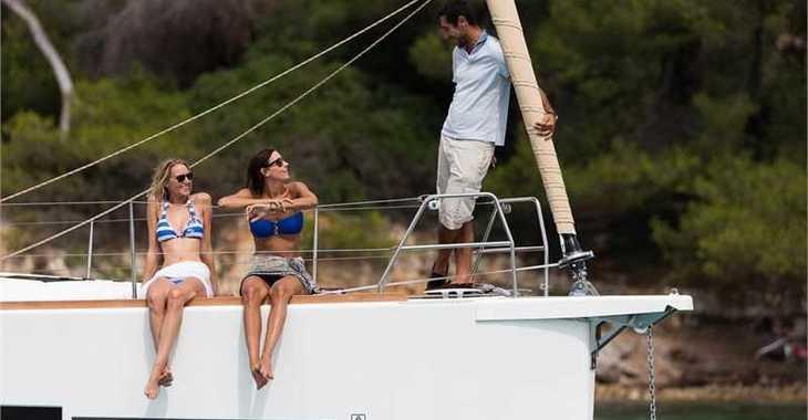Rent a sailboat in Marina Kornati - Dufour 460 Grand Large (4Cab)