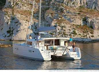 Chartern Sie katamaran in Alimos Marina Kalamaki - Lagoon 400 S2