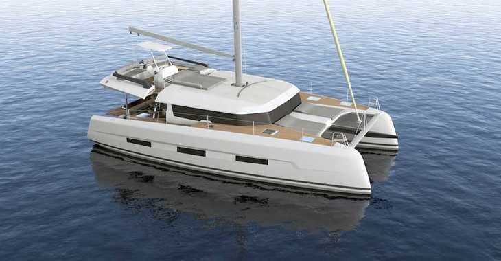 Rent a catamaran in Mykonos - Dufour 48