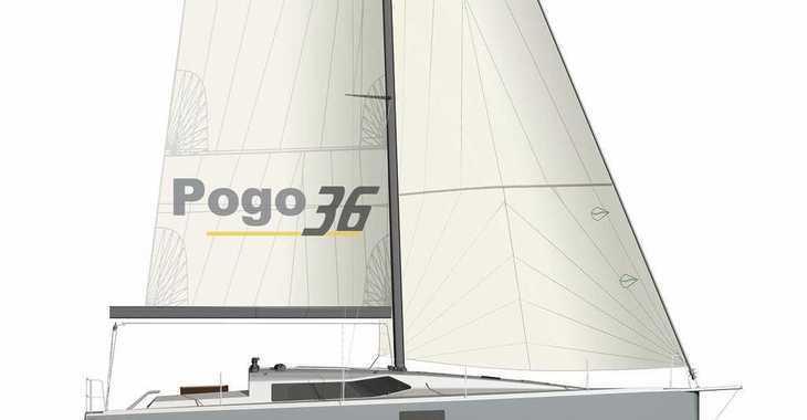 Rent a sailboat in Port Roses - Pogo 36