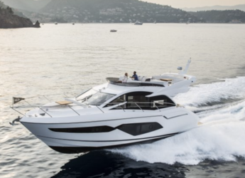 Rent a yacht in Port Olimpic de Barcelona - Sunseeker 52 Manhattan