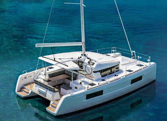 Rent a catamaran in SCT Marina Trogir - LAGOON 40