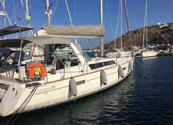 Rent a sailboat in Mykonos - Oceanis 45