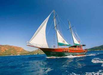 Rent a schooner in Marmaris - Traditional Gulet