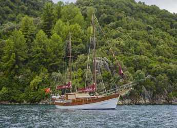 Rent a schooner in Netsel Marina - Gulet Laila Deniz