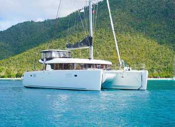Rent a catamaran in Scrub Island - Lagoon 45