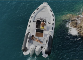 Rent a dinghy in Marina el Portet de Denia - NEUMÁTICA-LUXURY EXPERIENCE