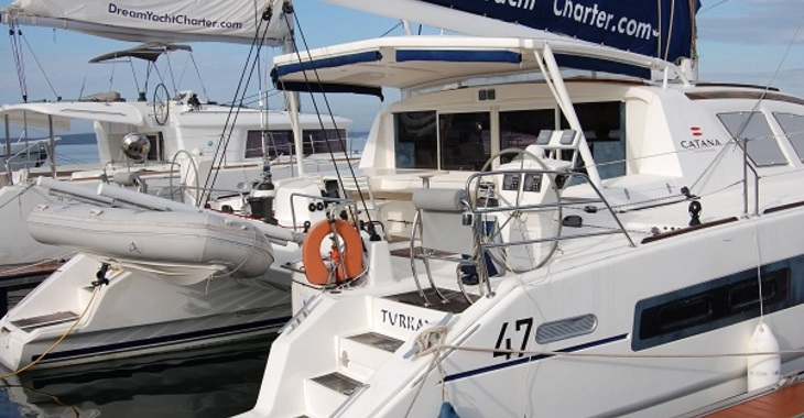 Alquilar catamarán Catana 47 Custom en Marina Cienfuegos, Cienfuegos