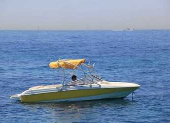 Rent a motorboat in Marina Ibiza - Chaparral 180