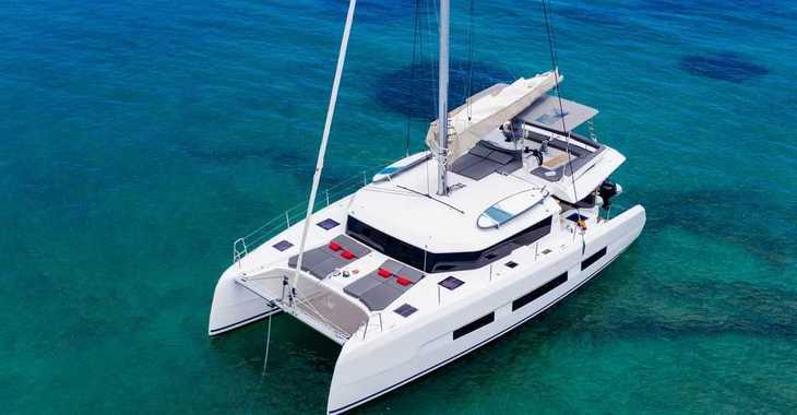 Rent a catamaran in Mykonos - Dufour 48 Catamaran