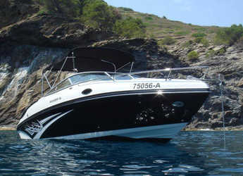 Rent a motorboat in Portocolom - Rinker 246 CB