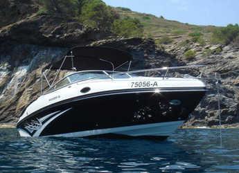 Chartern Sie motorboot in Portocolom - Rinker 246 CB