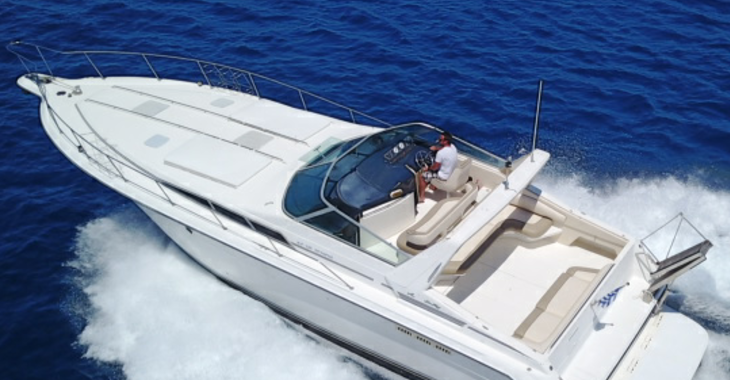 Rent a yacht in Marina Mandraki - Sea Ray 450 Sundancer