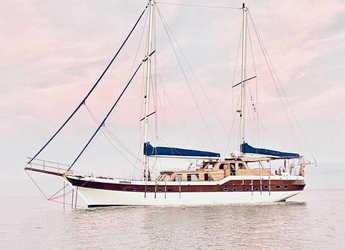 Rent a schooner in Port of Tarragona - GOLETA 24M