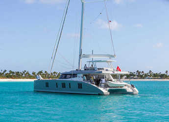Rent a catamaran in Club Marina - Sunreef 74