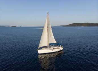 Rent a sailboat in Croatia - Oceanis 393 Clipper