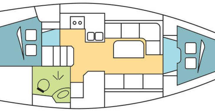 Alquilar velero Bavaria 34 Cruiser en Zaton Marina, Zaton
