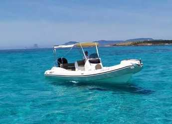 Rent a dinghy in Marina Botafoch - Blackfin Elegance 8