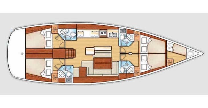 Chartern Sie segelboot in Veruda - Oceanis 50