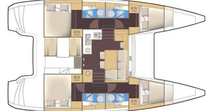 Rent a catamaran in Marina Gouvia - Lagoon 39