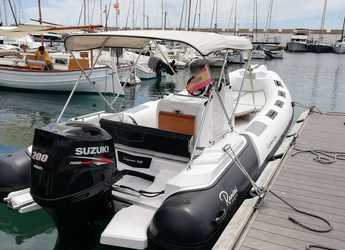 Rent a dinghy in Sa ràpita - Cayman 23 Sport