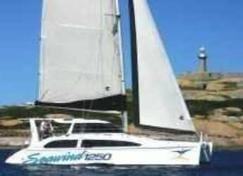 Rent a catamaran in Abel Point Marina - Seawind 1250