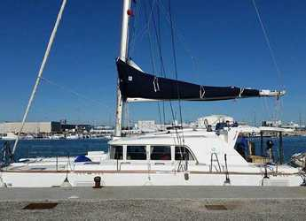 Rent a catamaran in Marina Formentera - Lagoon 440