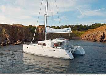 Rent a catamaran in Port Lavrion - Lagoon 450 F