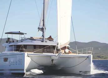 Rent a catamaran in Nanny Cay - Saba 50