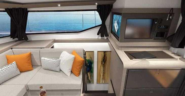 Rent a catamaran in Mykonos - Fountaine Pajot 45