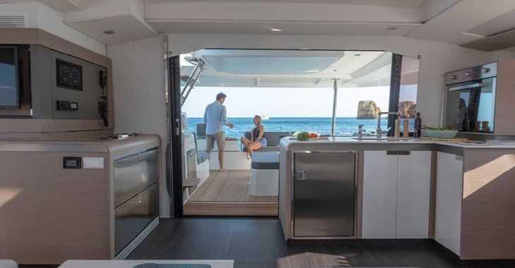 Chartern Sie katamaran in Cala Nova - Elba 45