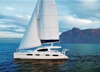 Rent a power catamaran in Alimos Marina Kalamaki - Leopard 46