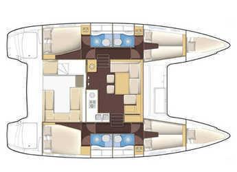 Chartern Sie katamaran Lagoon 400 S2 in Port Mahon, Mahon