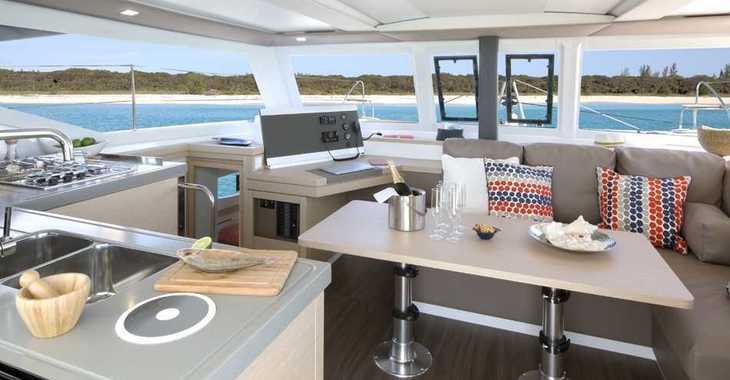 Rent a catamaran in Port Gocëk Marina - Fountaine Pajot Lucia 40