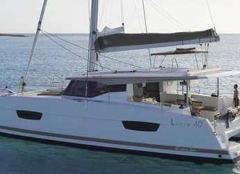 Rent a catamaran in Port Gocëk Marina - Fountaine Pajot Lucia 40