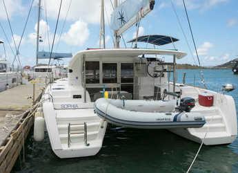 Rent a catamaran in Scrub Island - Lagoon 39 - 4 + 2 cab.