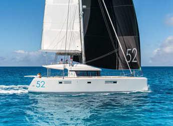 Rent a catamaran in Agios Kosmas Marina - Lagoon 52 F - 5 + 2 cab.