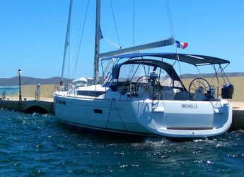 Rent a sailboat in Agios Kosmas Marina - Sun Odyssey 519 - 4 cab.
