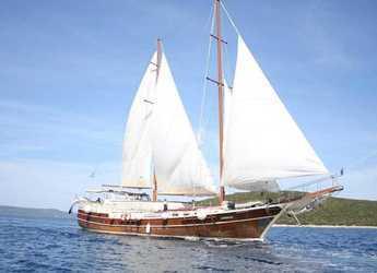 Rent a schooner in Zadar Marina - Gulet Gardelin