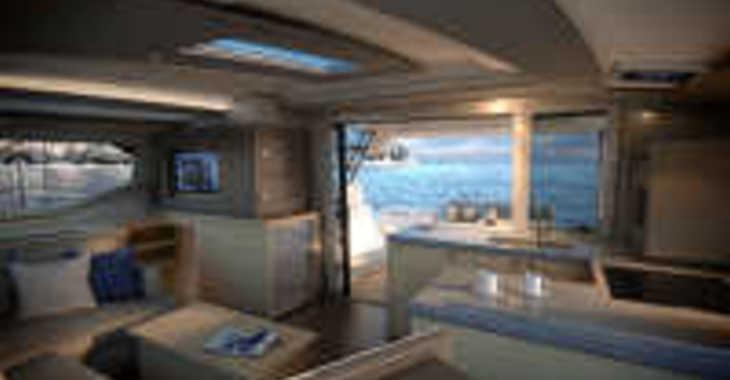 Rent a catamaran in Port Tino Rossi - Astrea 42