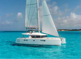 Chartern Sie katamaran in Port Tino Rossi - Lagoon 52