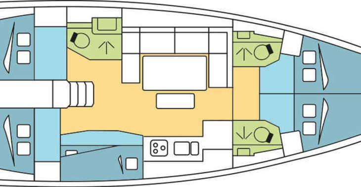 Rent a sailboat in Marina Le Marin - Dufour 460