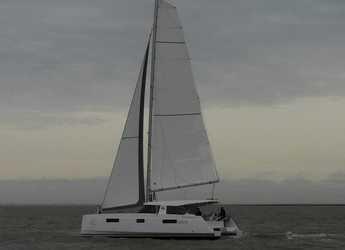 Rent a catamaran in Rodney Bay Marina - Nautitech Open 40