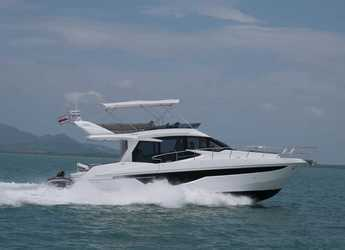 Rent a sailboat in Yacht Haven Marina - Galeon Flybridge 460