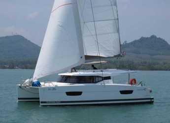 Chartern Sie katamaran in Yacht Haven Marina - Lucia 40