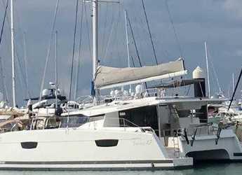 Rent a catamaran in Yacht Haven Marina - Saona 47