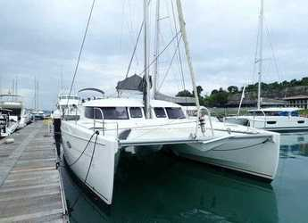 Rent a catamaran in Yacht Haven Marina - Lipari 41