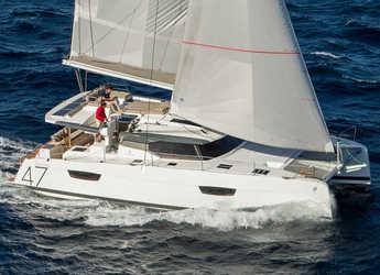 Rent a catamaran in Road Reef Marina - Fountaine Pajot Saona 47