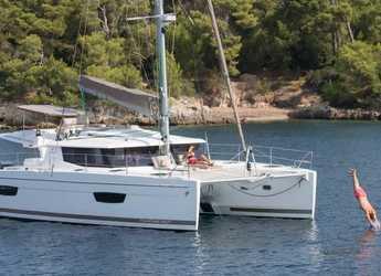 Chartern Sie katamaran in Nanny Cay - Helia 44 - 3 Cabin