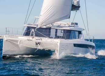 Rent a catamaran in American Yacht Harbor - Leopard 50